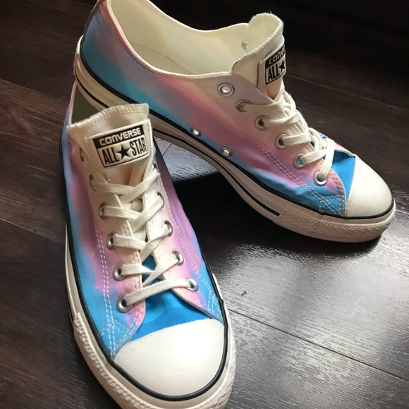 e123296b5d8 Converse Shoes - Converse sneakers pink and blue ombré